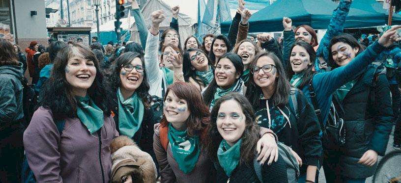Femmes d'Argentine - Que Sea Ley