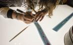 Atelier grattage de pellicule